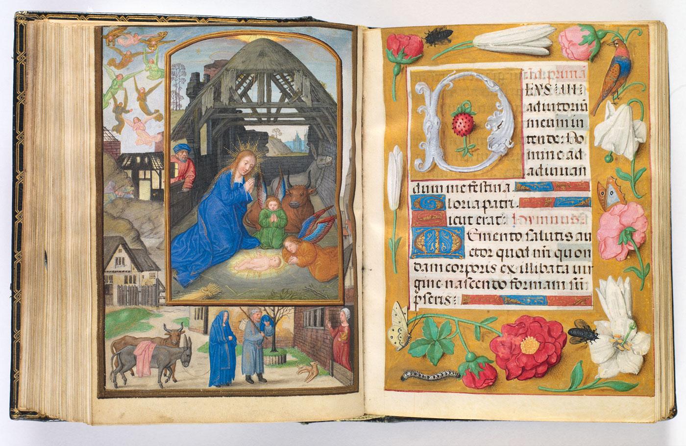Stundenbuch der Doña Isabel, Simon Bening und Werkstatt, Flandern (Gent?), um 1510-1520, fol. 127v- 128r